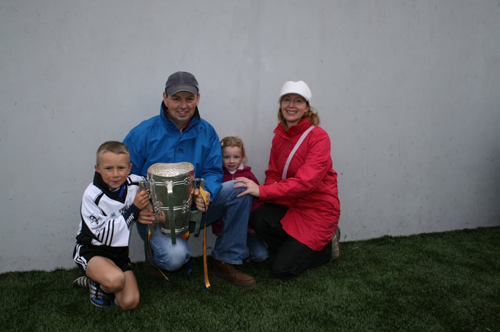 The Grace FAMILY IN THURLES WITH LIAM mac