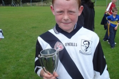 U10 Blitz Winners Captain - Toomevara