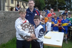 U10 Winners Captain - Roscrea