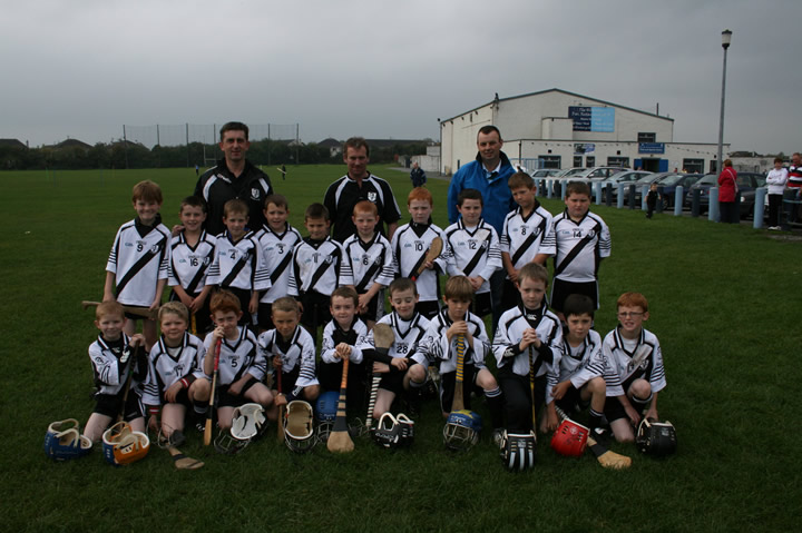 Under 8 and Managers before nenagh tour